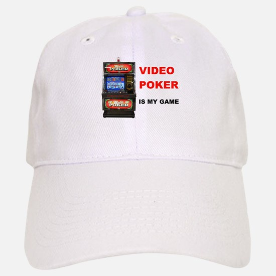 VIDEO POKER Baseball Baseball Cap
