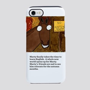 Marty learned english. iPhone 8/7 Tough Case