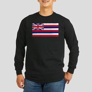 State Flag of Hawaii Long Sleeve T-Shirt