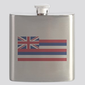 State Flag of Hawaii Flask