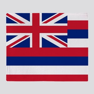 State Flag of Hawaii Throw Blanket