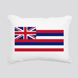 State Flag of Hawaii Rectangular Canvas Pillow