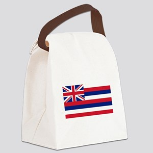 State Flag of Hawaii Canvas Lunch Bag