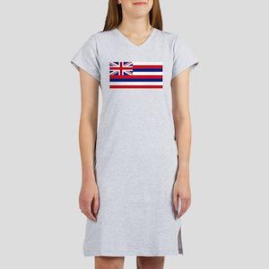 State Flag of Hawaii Women's Nightshirt