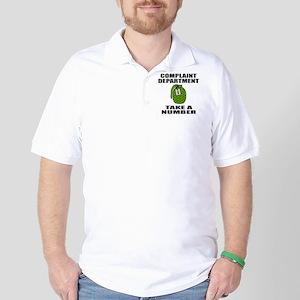 COMPLAINT DEPARTMENT Golf Shirt