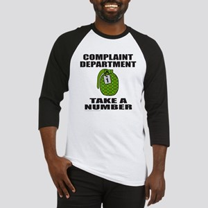 COMPLAINT DEPARTMENT Baseball Jersey