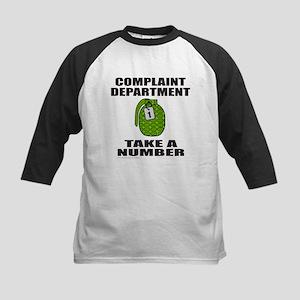 COMPLAINT DEPARTMENT Kids Baseball Jersey