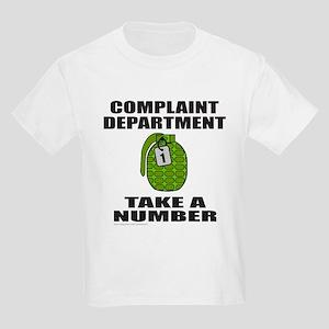 COMPLAINT DEPARTMENT Kids Light T-Shirt