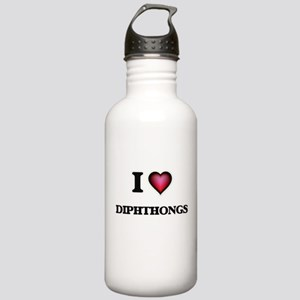 I love Diphthongs Stainless Water Bottle 1.0L