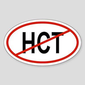 HCT Oval Sticker