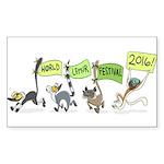 World Lemur Festival 2016 Sticker
