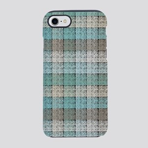 Faux Frilly Turquoise Lace iPhone 8/7 Tough Case