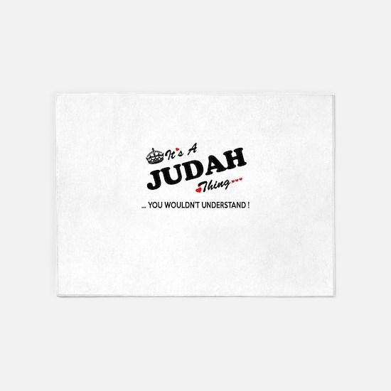 JUDAH thing, you wouldn't understan 5'x7'Area Rug