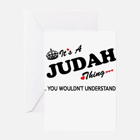 JUDAH thing, you wouldn't understan Greeting Cards
