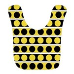 Black, white and yellow polka dots Polyester Baby