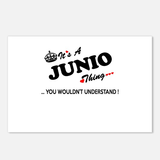 JUNIO thing, you wouldn't Postcards (Package of 8)