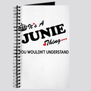 JUNIE thing, you wouldn't understand Journal