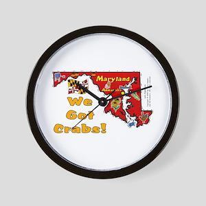 MD-Crabs! Wall Clock