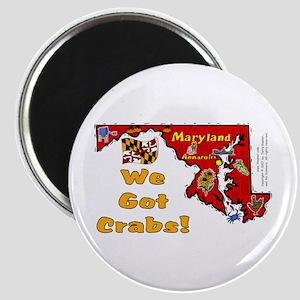 MD-Crabs! Magnet