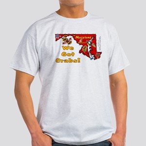 MD-Crabs! Light T-Shirt