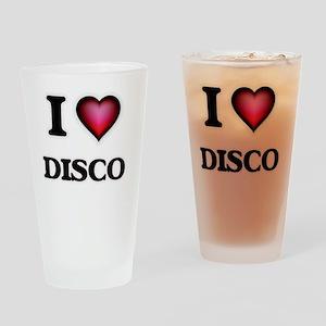 I love Disco Drinking Glass