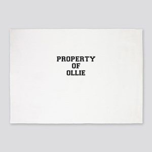 Property of OLLIE 5'x7'Area Rug