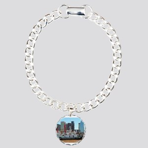 Tug boats, Buenos Aires, Charm Bracelet, One Charm