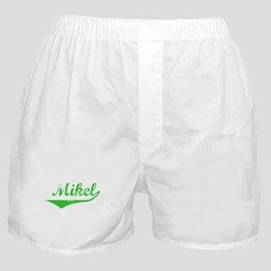 Mikel Vintage (Green) Boxer Shorts