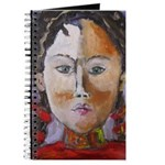 Journal - Young Woman in Red