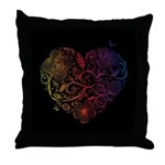 Heartbeat Throw Pillow