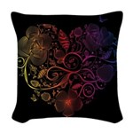 Heartbeat Woven Throw Pillow