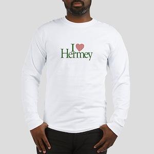 I Love Hermey Long Sleeve T-Shirt