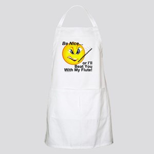 Be Nice or I'll Beat You With BBQ Apron