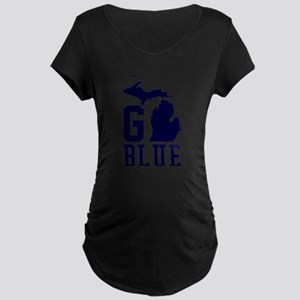 Go BLUE Maternity T-Shirt