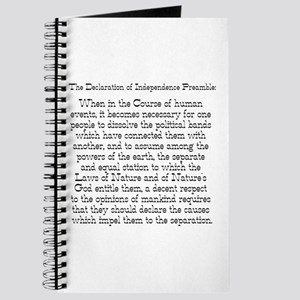 Preamble to Declaration Journal