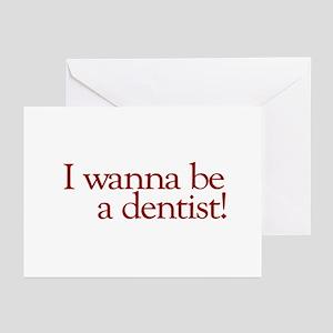 I Wanna be a Dentist (Hermey) Greeting Cards (Pk o