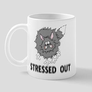 Stressed Out Cat Mug
