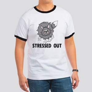 Stressed Out Cat Ringer T