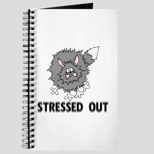 Stressed Out Cat Journal