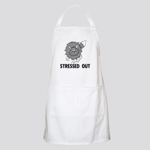 Stressed Out Cat BBQ Apron