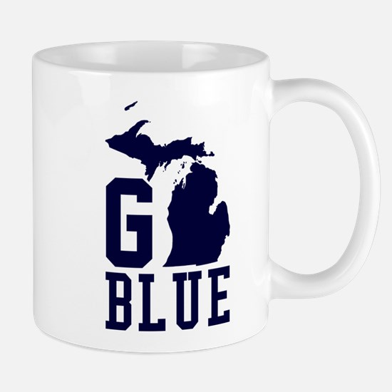 Go BLUE Mugs