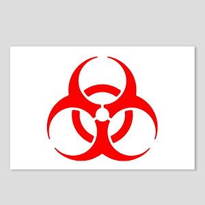 Biohazard Postcards (Package of 8)