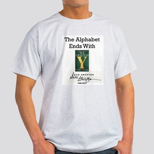Alphabet Ends With Y Light T-Shirt