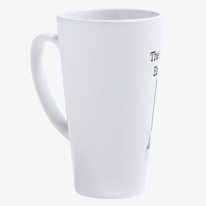 AlphabetEndsWithY 17 oz Latte Mug