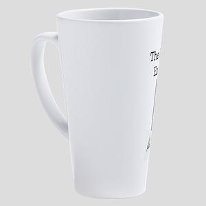 Alphabet Ends With Y 17 oz Latte Mug