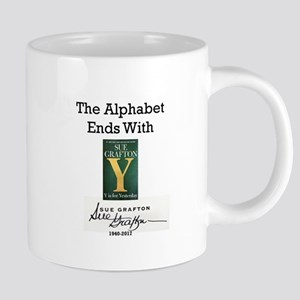 Alphabet Ends With Y 20 oz Ceramic Mega Mug