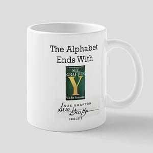 Alphabet Ends With Y 11 oz Ceramic Mug