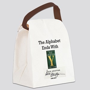 Alphabet Ends With Y Canvas Lunch Bag