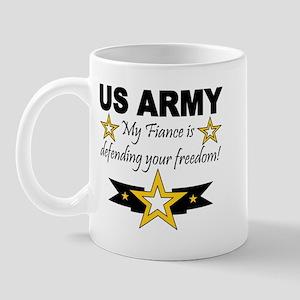 Army My Fiance is defending . Mug