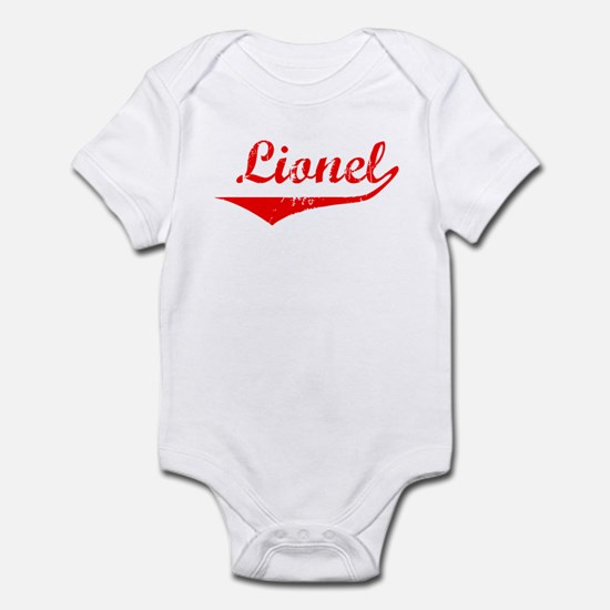 Lionel Vintage (Red) Infant Bodysuit